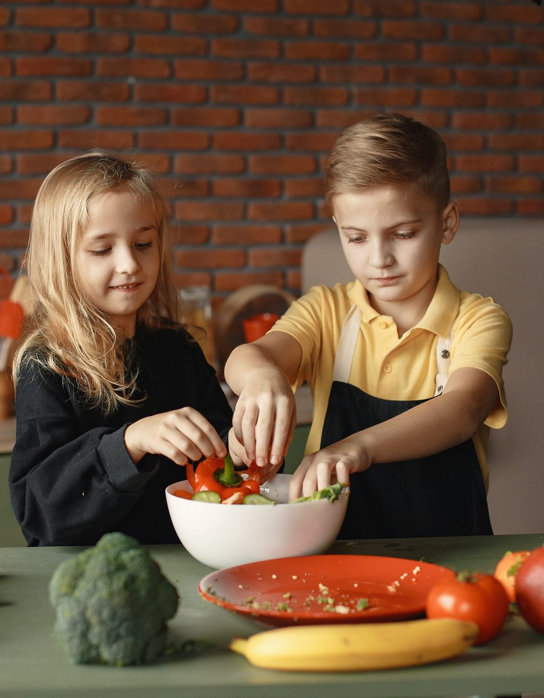 Does your child enjoy cooking?